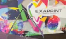 Nuit des Trophées de l'Imprimerie 2015 : Exaprint reçoit le Digital Award de l'Impression Numérique