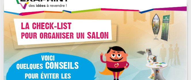 La check-list pour organiser un salon
