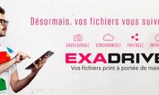 Exadrive, service de stockage et de partage de fichiers en ligne