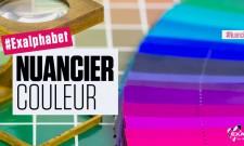 #Exalphabet : Nuancier couleur