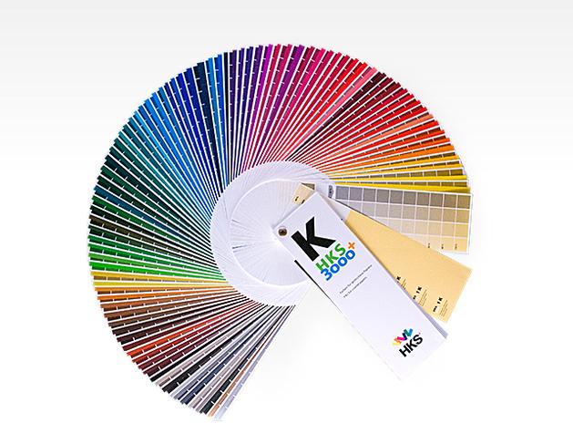 #Exalphabet, nuancier couleur : HKS_nuancier