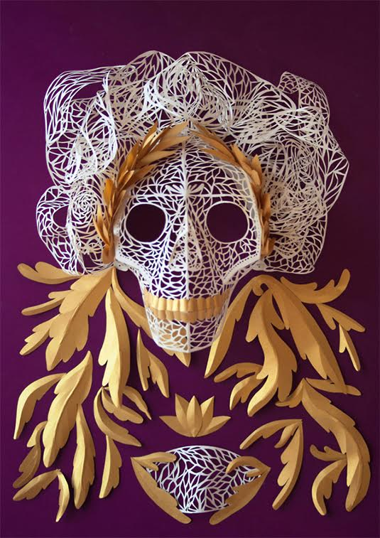 masque decoupe papier