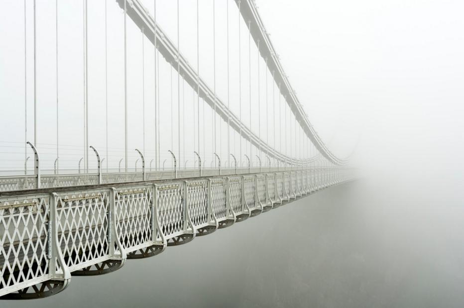 photo pont brouillard flickr