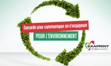 Conseils pour communiquer en s'engageant pour l'environement