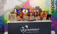 C'est parti pour le 2ème jour d'Exaprint au Salon Viscom 2016