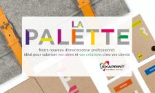 La Palette, le nouvel outil revendeur dévoilé au salon VISCOM 2016 par Exaprint