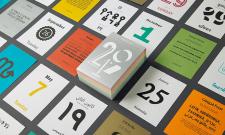 Des outils pour inspirer votre création en 2017 : calendrier typographique