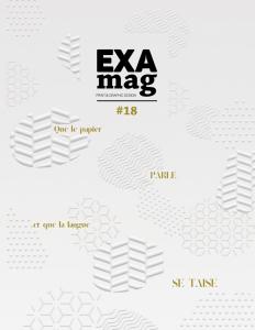 ExaMag #18 magazine du graphisme et du design