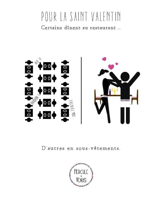 Inspiration graphique pour la Saint Valentin