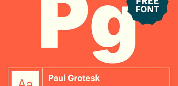 Paul Grotesk : famille typographique grotesque gratuite