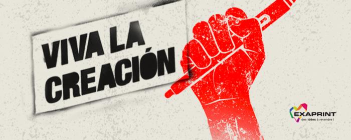 Exaprint réaffirme son engagement au service des arts graphiques #VivaLaCreación