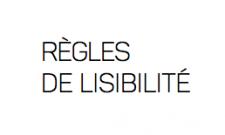 règles de lisibilité supports de communication