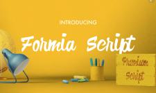 formia typographie