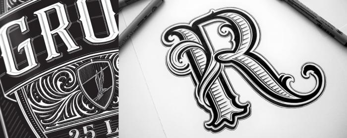 kobone lettering
