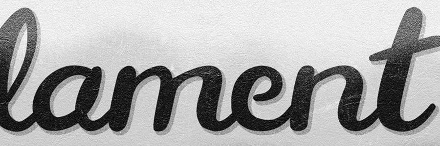 lament typographie gratuite exaprint