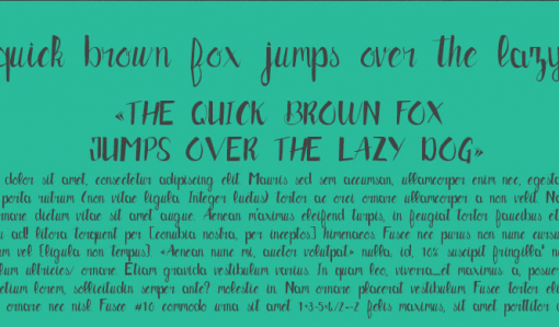 brush typo gratuite 1