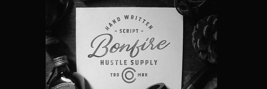 bonfire typographie gratuite