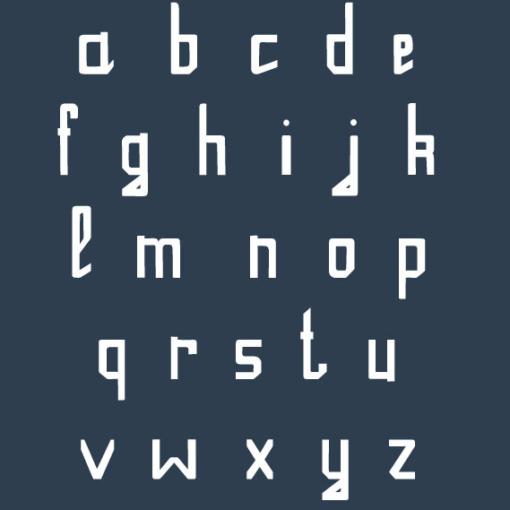 typographie gratuite ONE 2