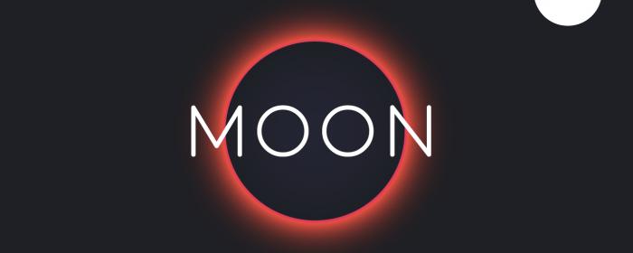 typo gratuite moon