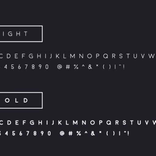 moon typographie gratuite exaprint 2
