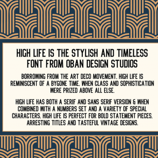 typographie high life 3