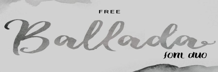 typographie ballada