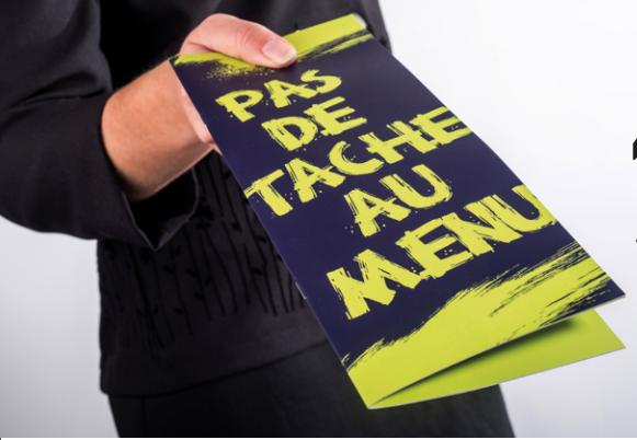 brochure menu