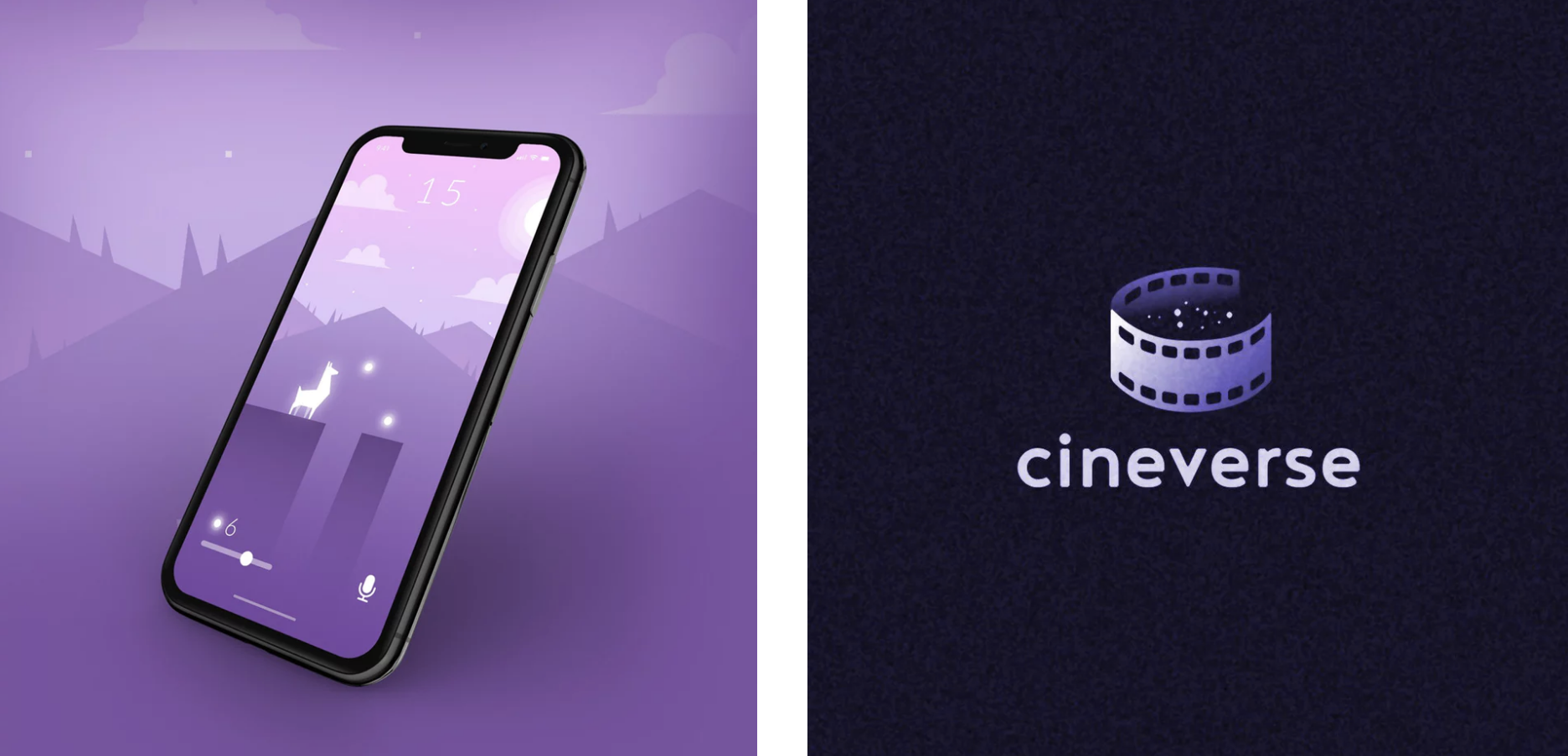 webdesign et logo couleur pantone 2018 violet