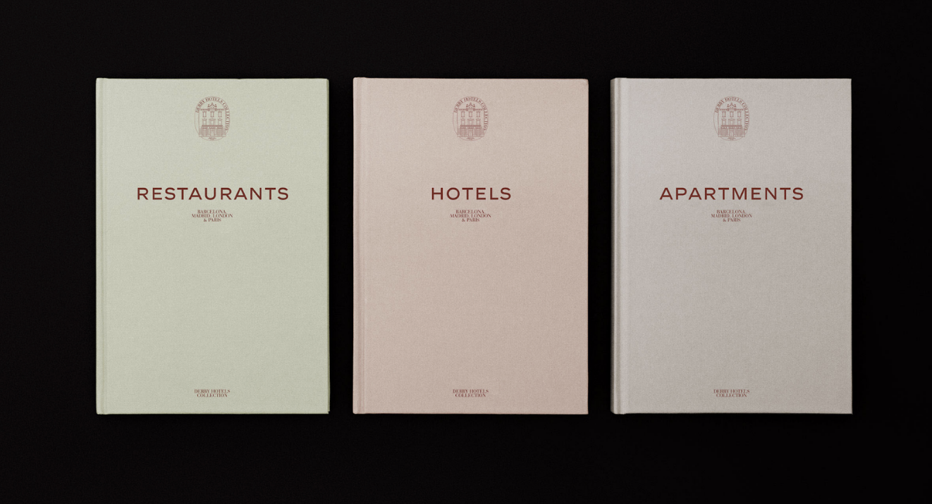 Menus restaurants couleur pastel