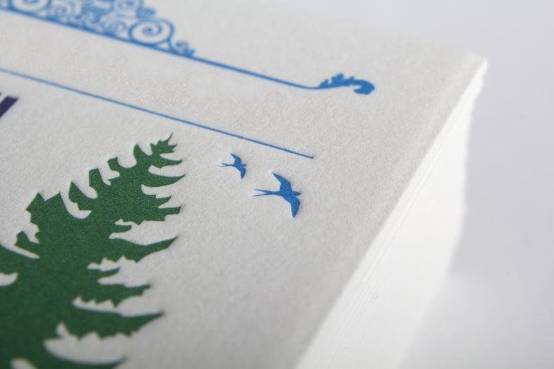 Carte de visite Letterpress