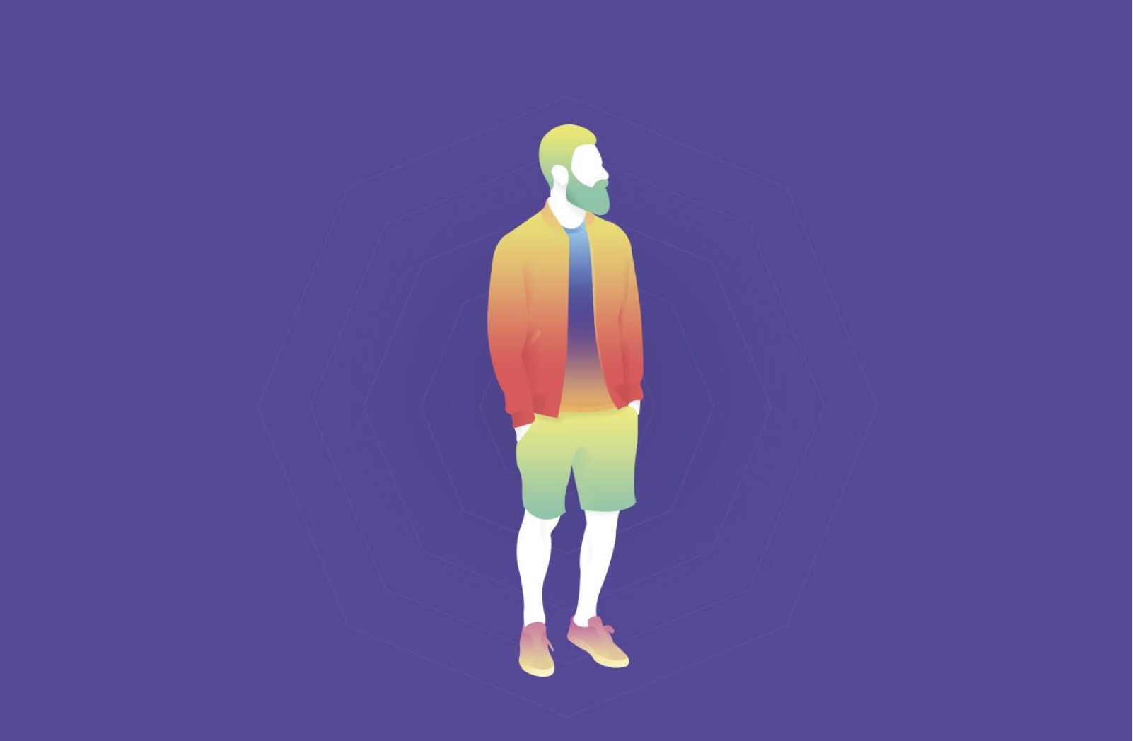 Site internet avec couleur ultraviolet pantone
