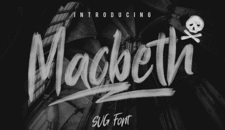 Macbeth typographie offerte
