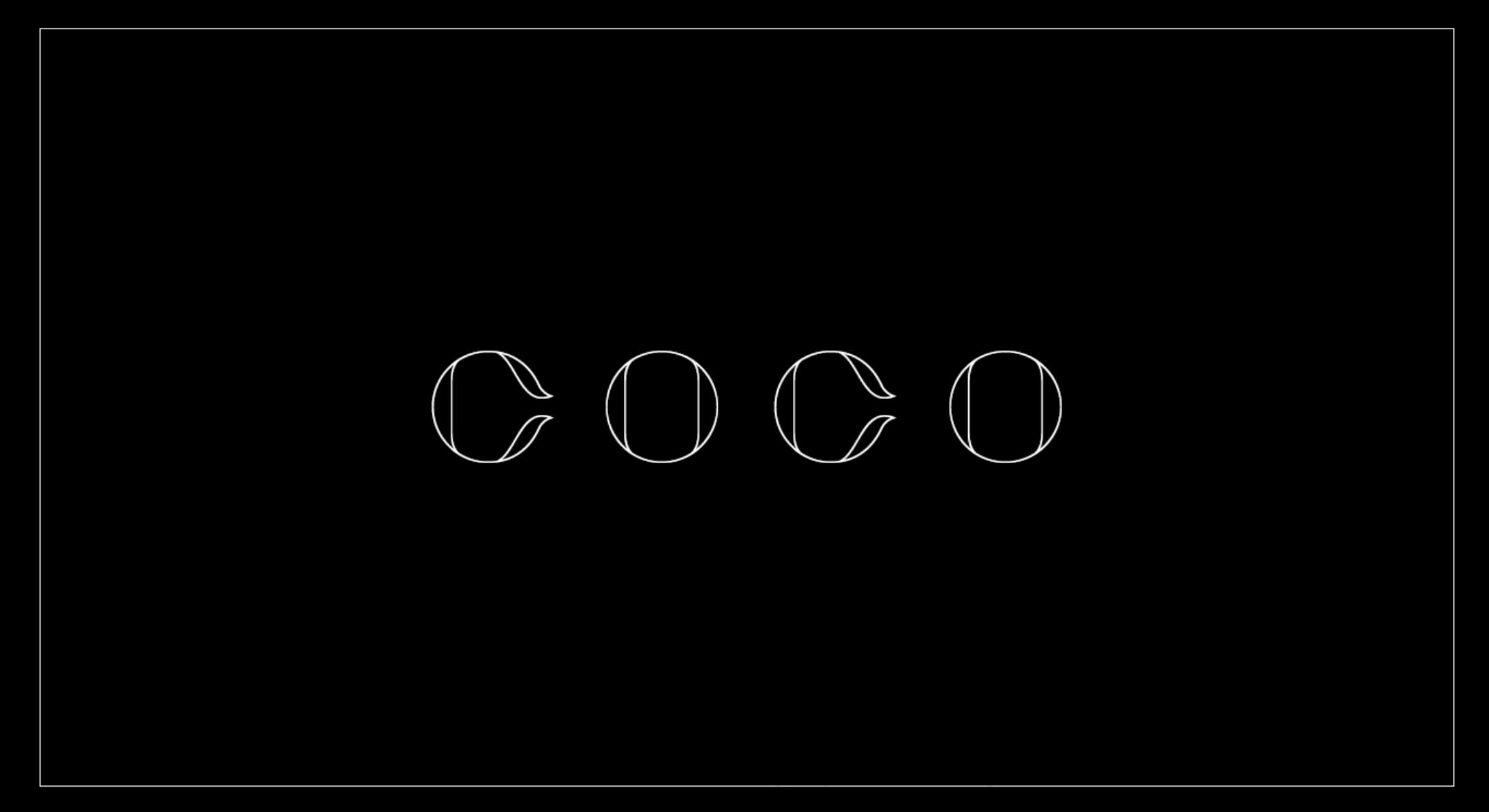 Police d'écriture gratuite COCO