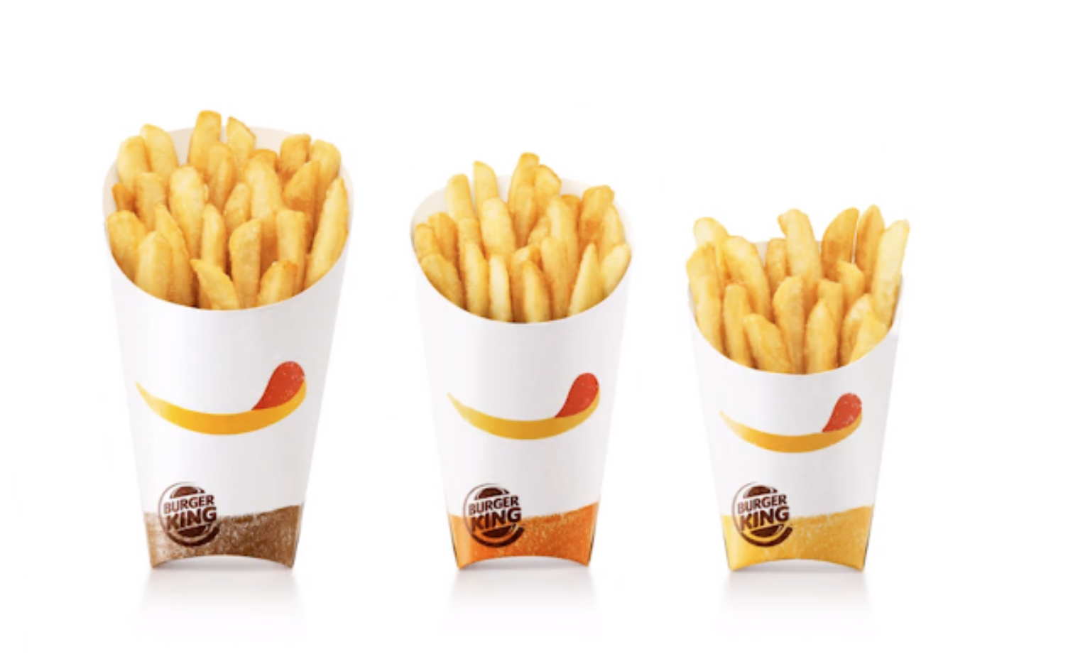 Packaging frites Burger King