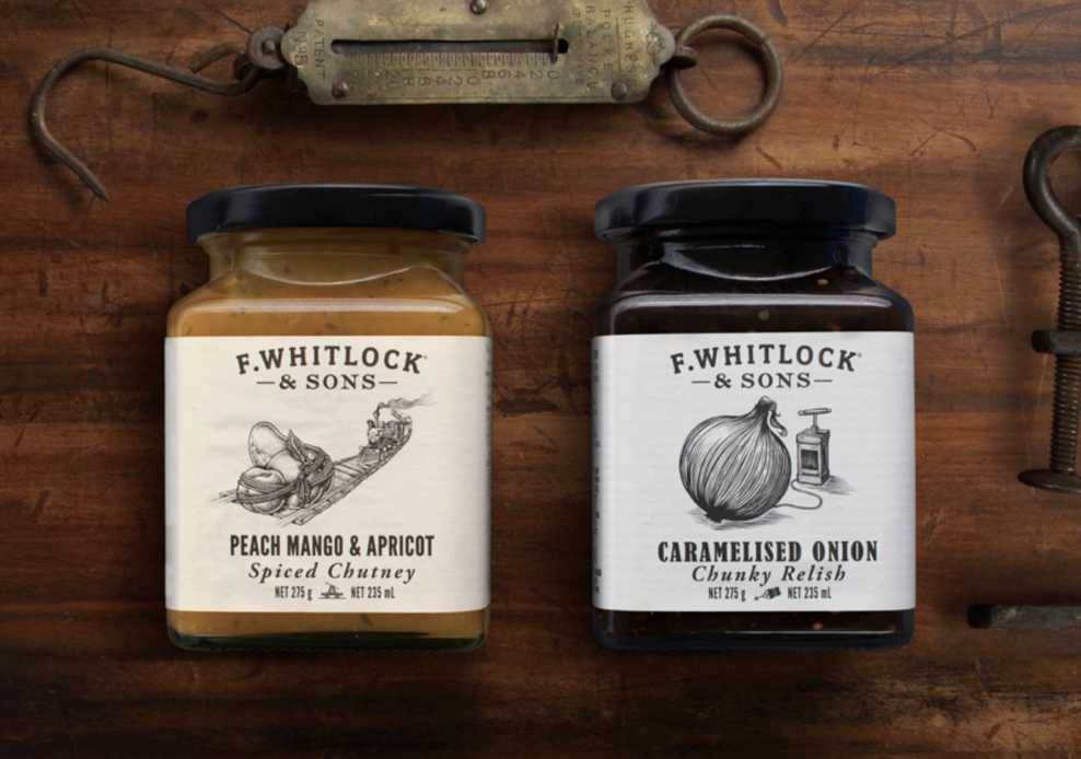 Logo traditionnel F.WHITLOCK ET SONS