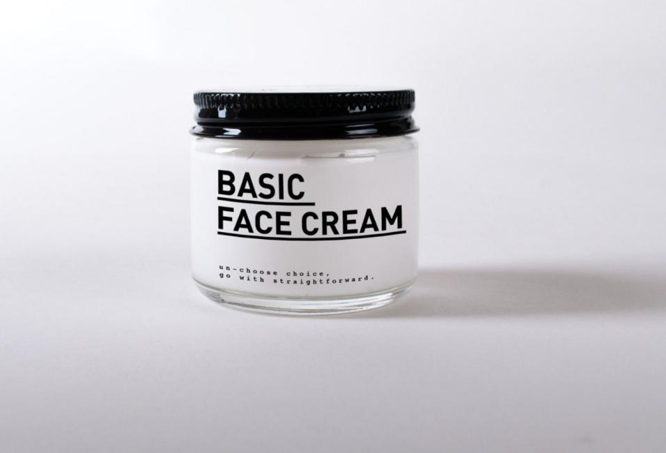 Produit basic crème visage
