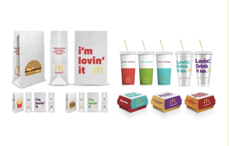 Nouveaux packagings mcdonalds 2016