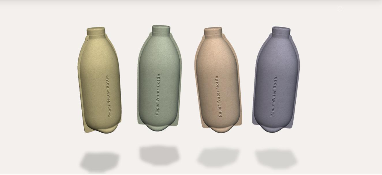 packaging révolutionnaire bouteille