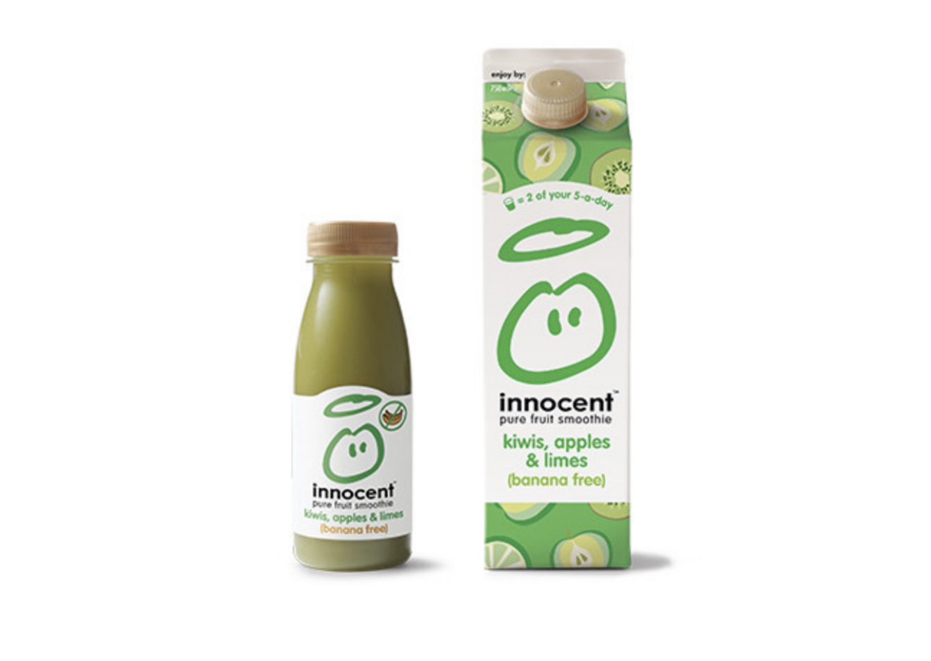 Packaging marque innocent