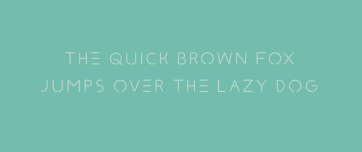 klaxon typographie gratuite