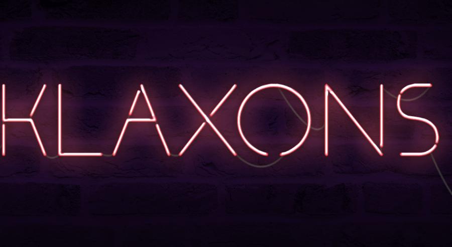 klaxons typographie gratuite