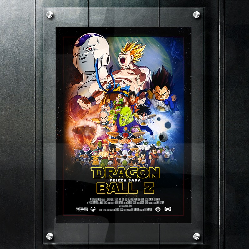 affiche printporn dragon ball z
