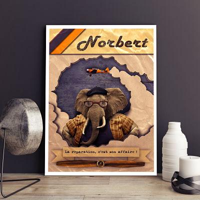 affiche norbert printporn