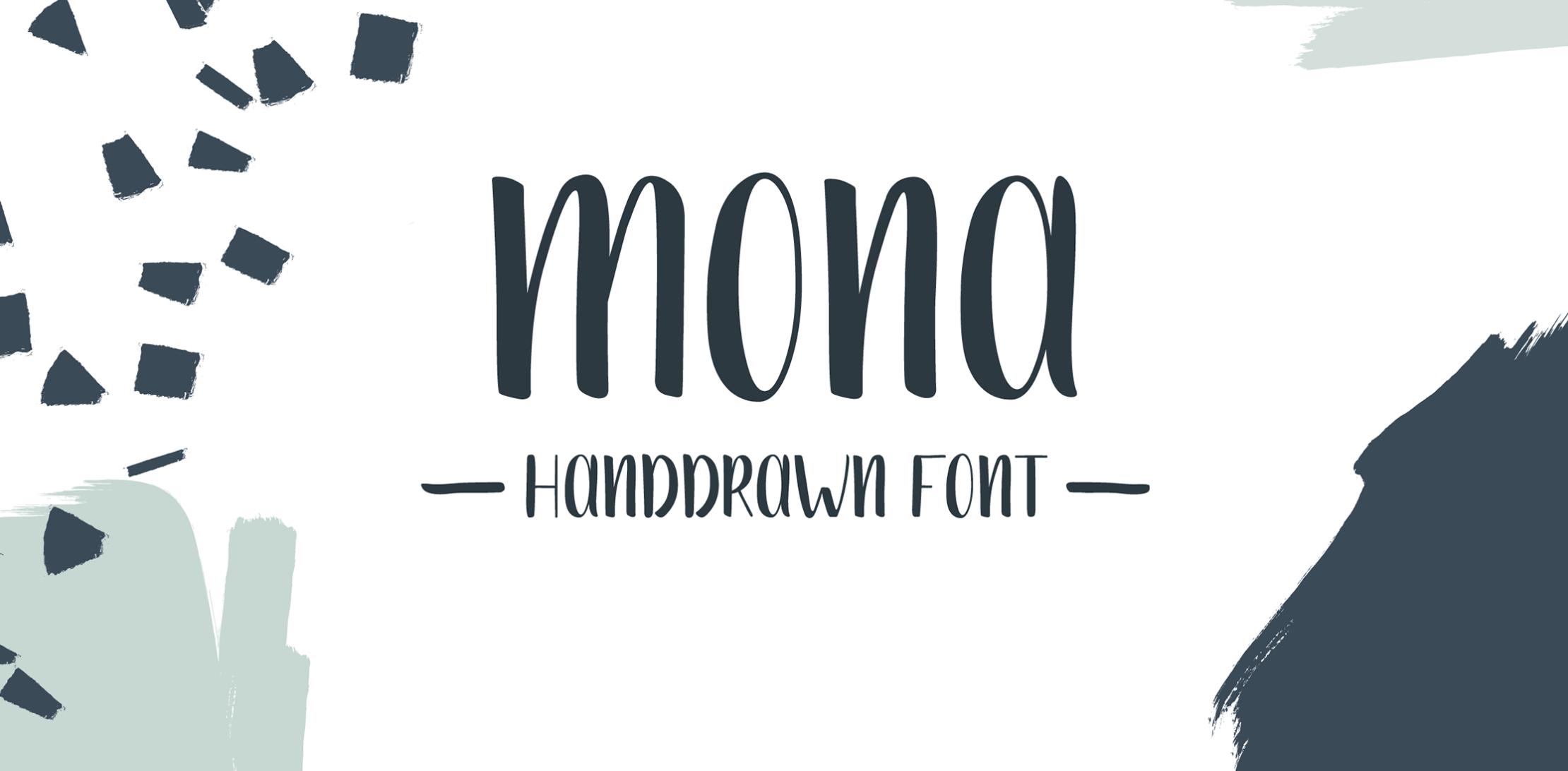 typographie mona