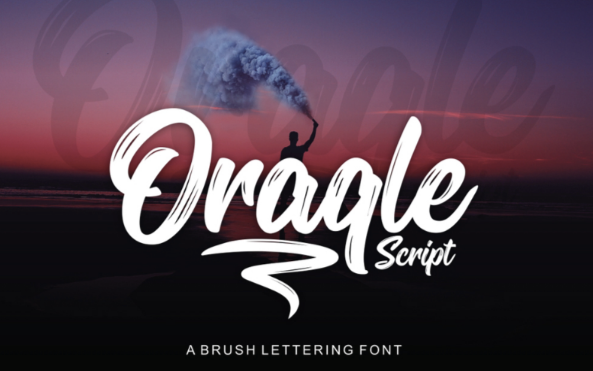 Typographie ORAQLE gratuite