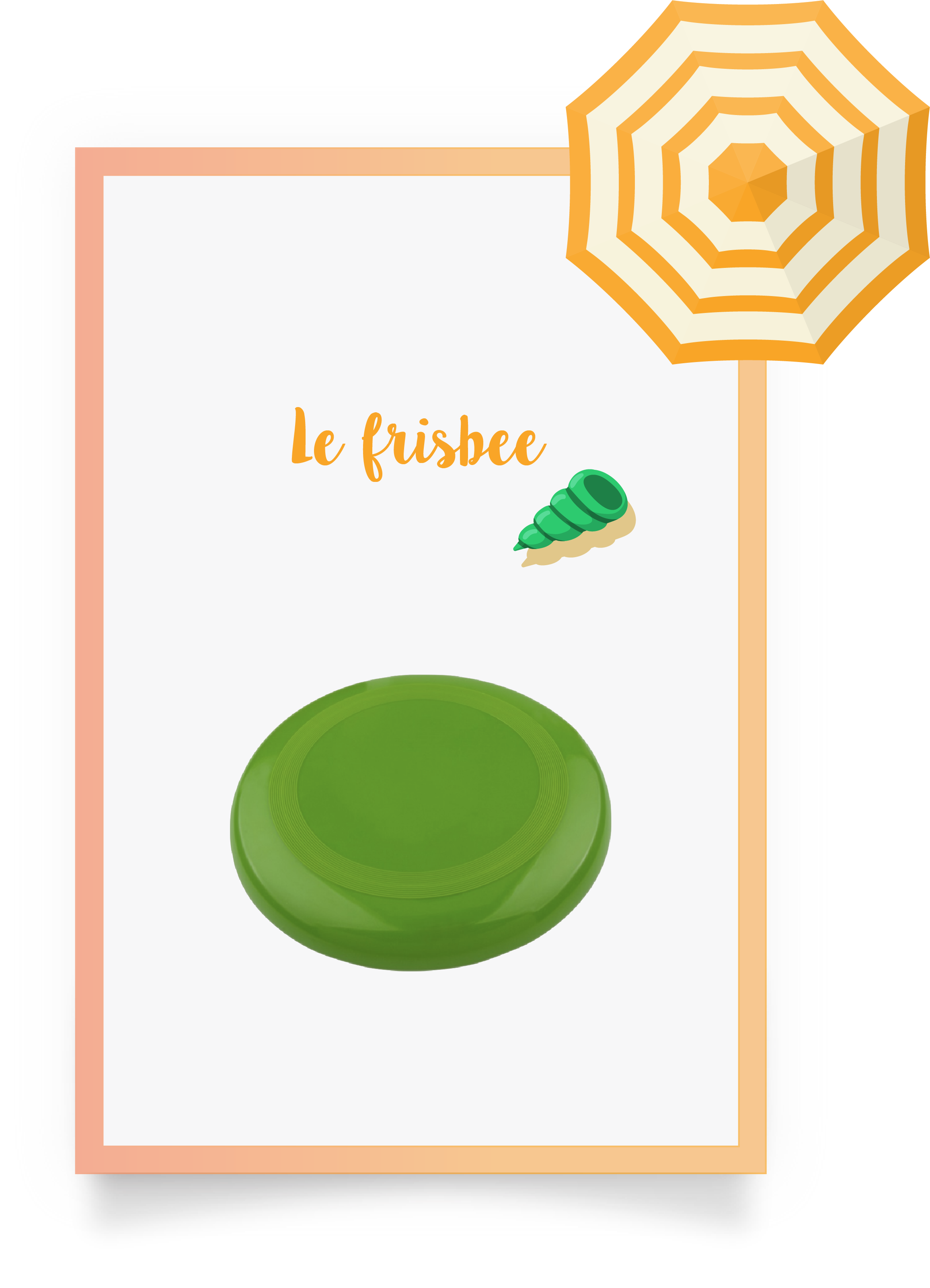 frisbee visuel juillet
