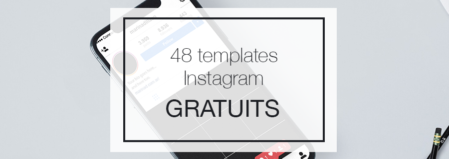 Header templates stories instagram