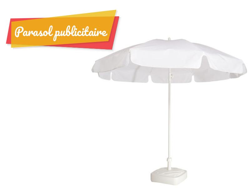 parasol publicitaire en solde