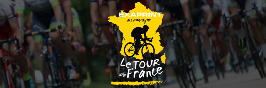 header tour de france exaprint