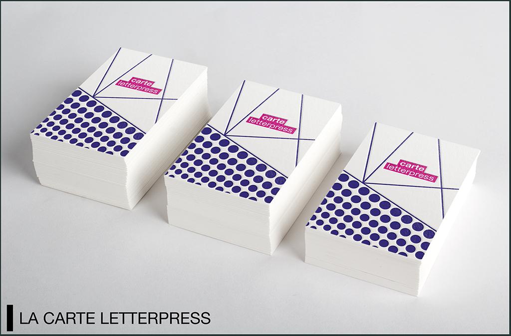 mockup carte lettrepress